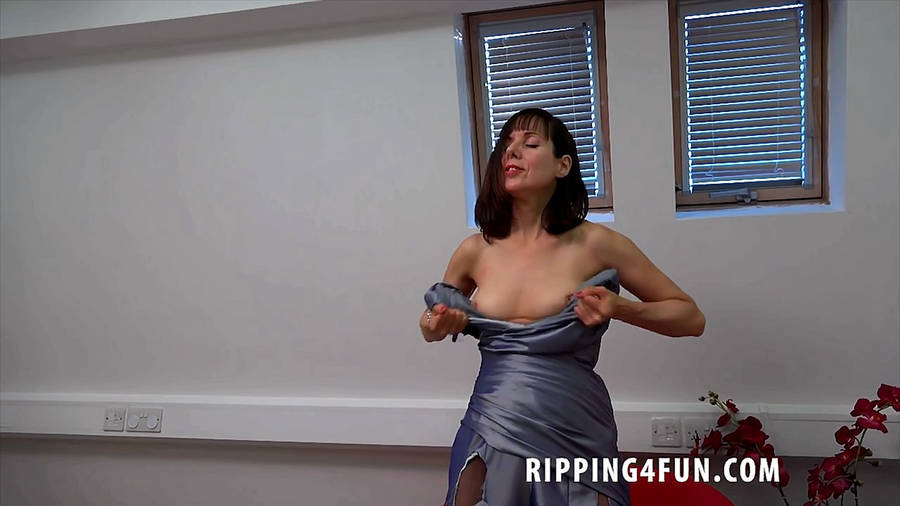 And cum ripping clothes naked video